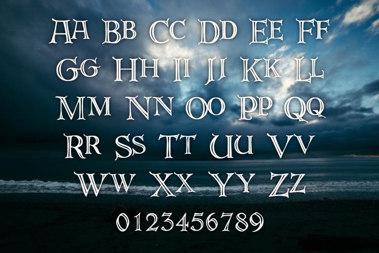 DeRoos Font