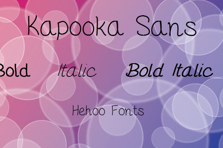KapookaSans Font