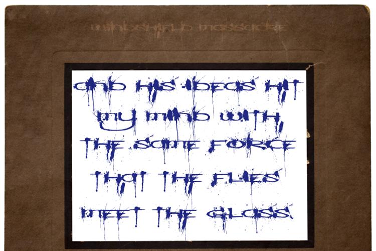 Windshield Massacre Font