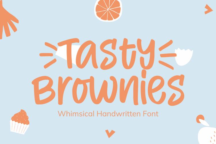 Tasty Brownies Font
