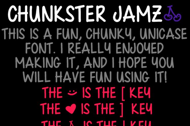 Chunkster Jamz Font