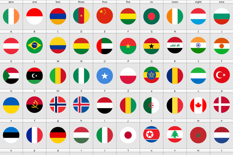 font flags color svg