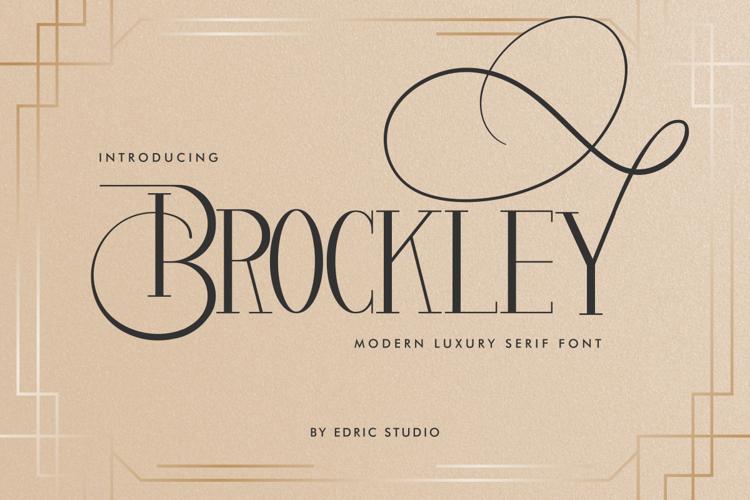 Brockley Font