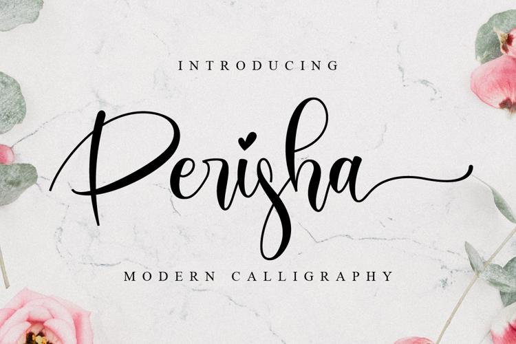 Perisha Font