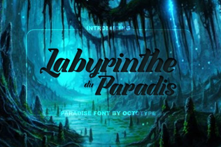 Labyrinthe du Paradis Font