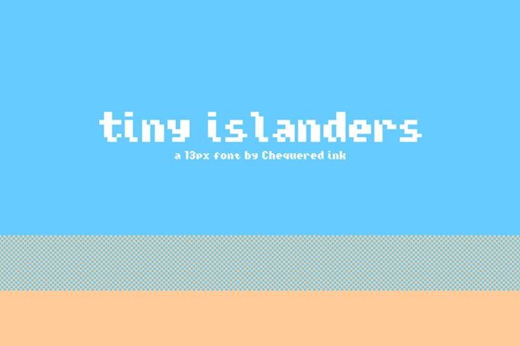 Tiny Islanders Font