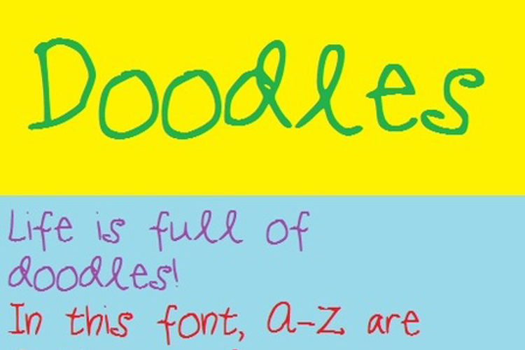 Doodles Font