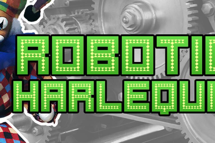 Robotic Harlequin Font