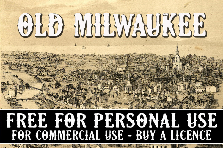 CF Old Milwaukee Font