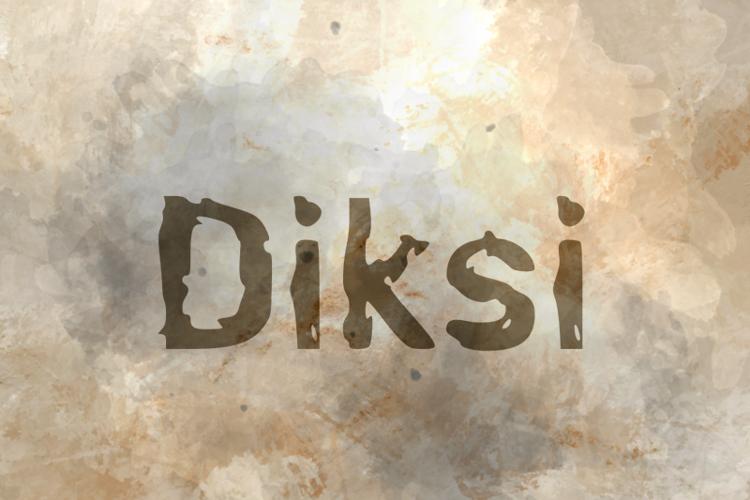 d Diksi Font