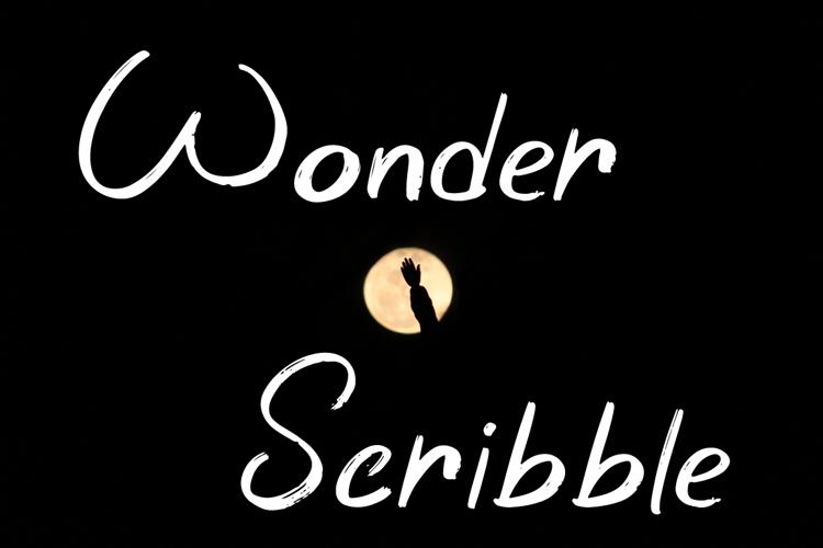 Wonder Scribble Font