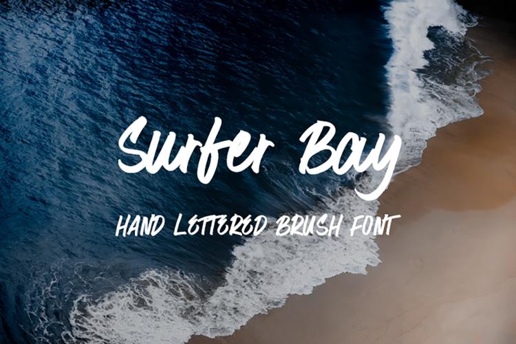 Surfer Bay Font