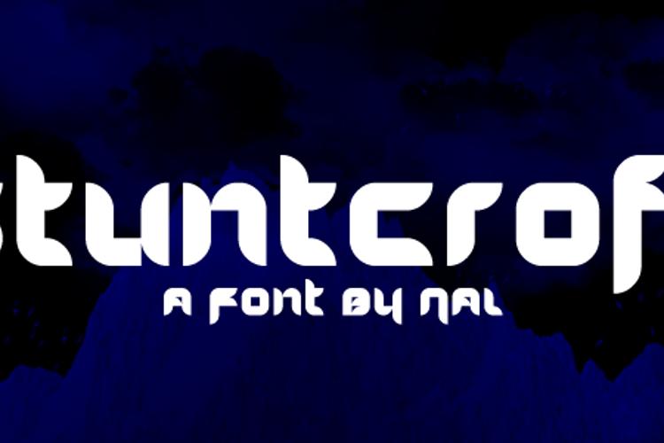 Stuntcroft Font