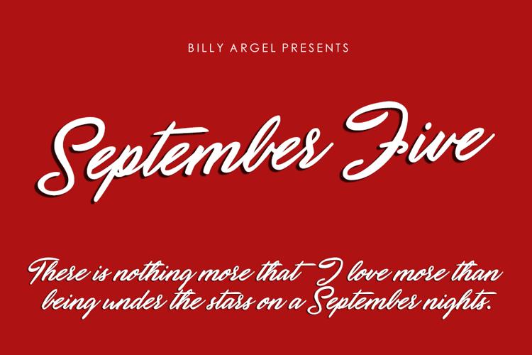 September Five Font