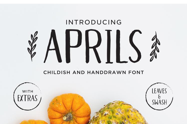 Aprils Font
