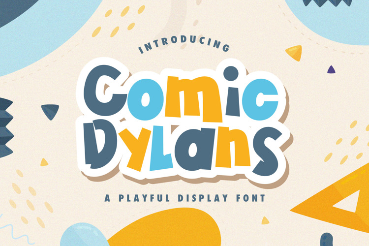 Comic Dylans Font