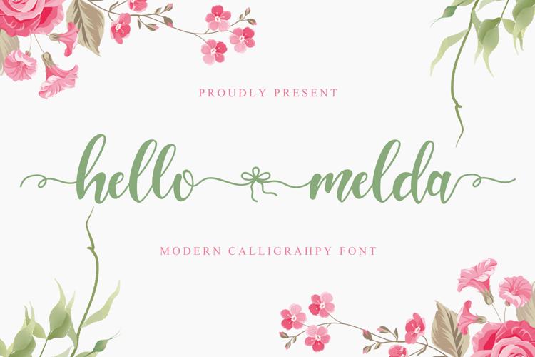 Hello Melda Font