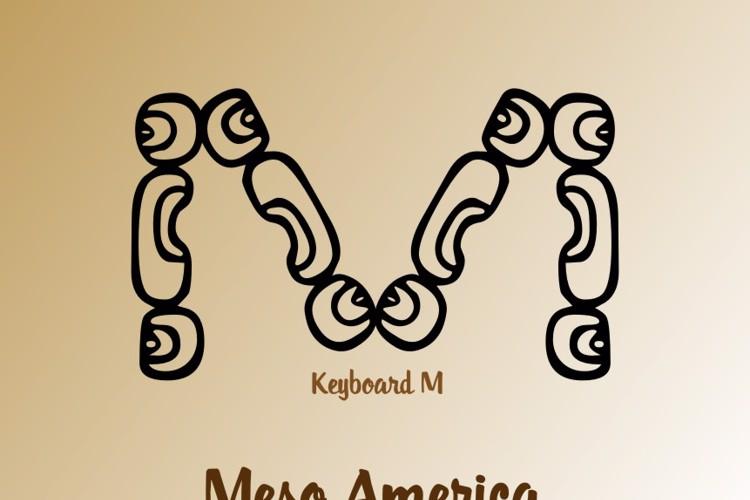 MesoAmerica Font