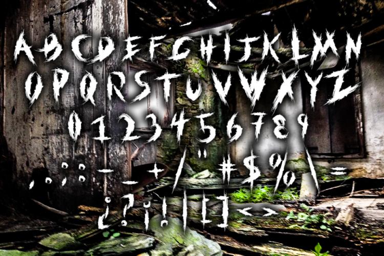 within destruction Font