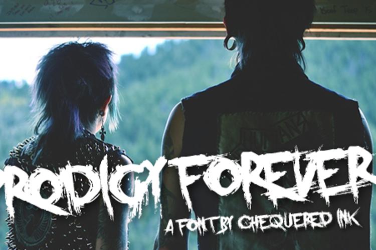 Prodigy Forever Font