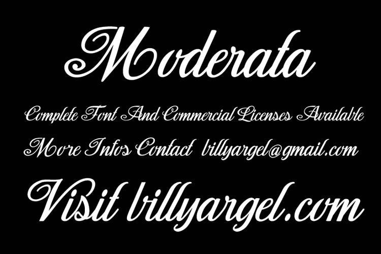 Moderata Font