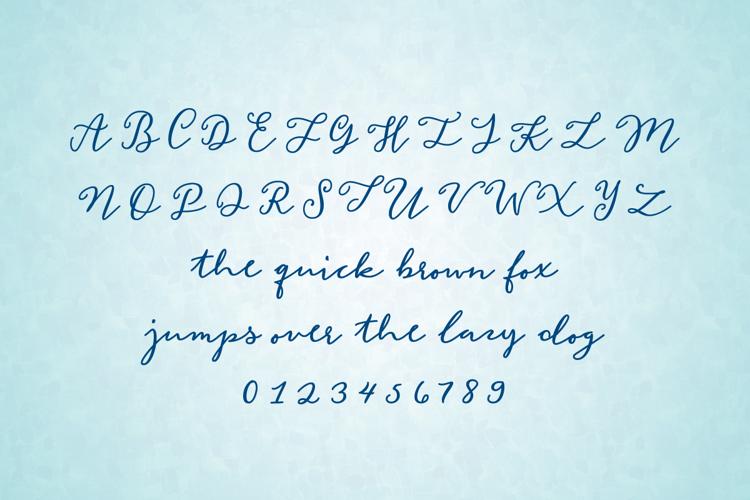 Mermaid Confetti Font