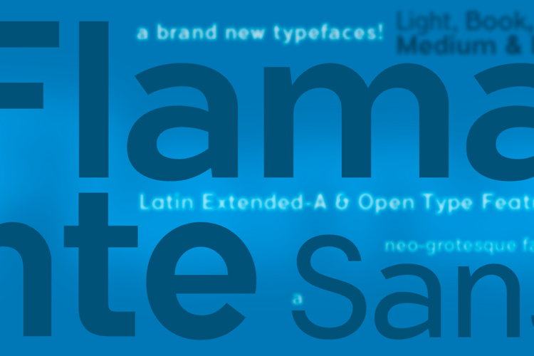 Flamante Sans Font