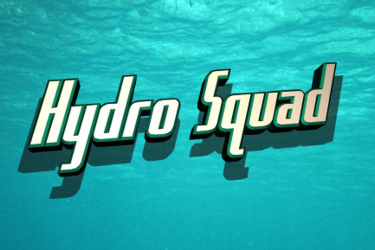 Hydro Squad Font