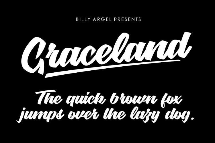 Graceland Font