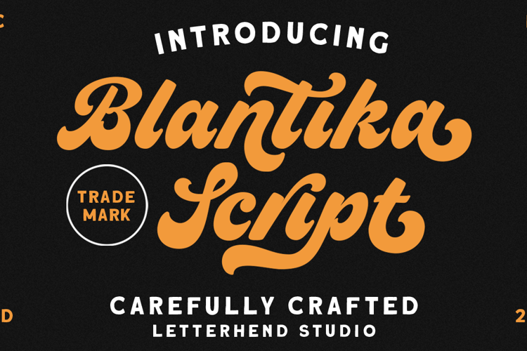 Blantika Font