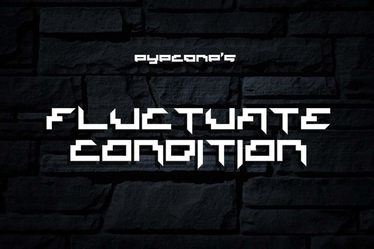 Fluctuate Condition Font