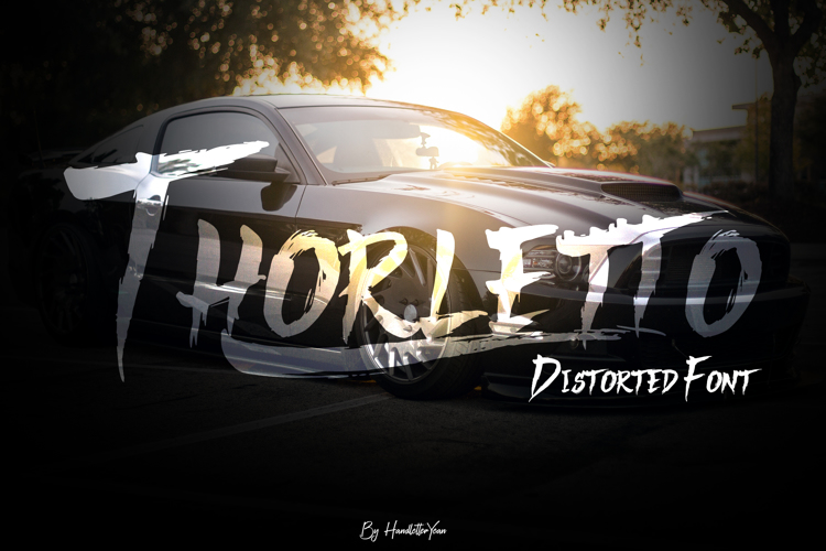 Thorletto Font