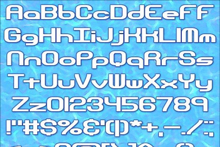 Hyperion Sunset BRK Font