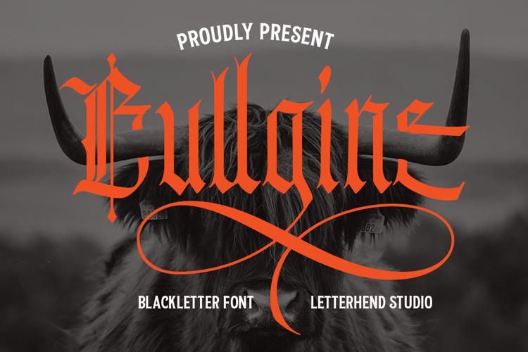 Bullgine Font
