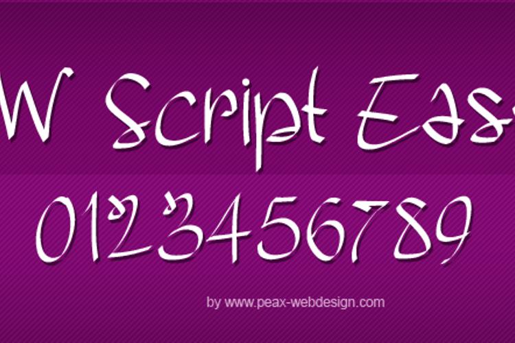 PWScriptease Font