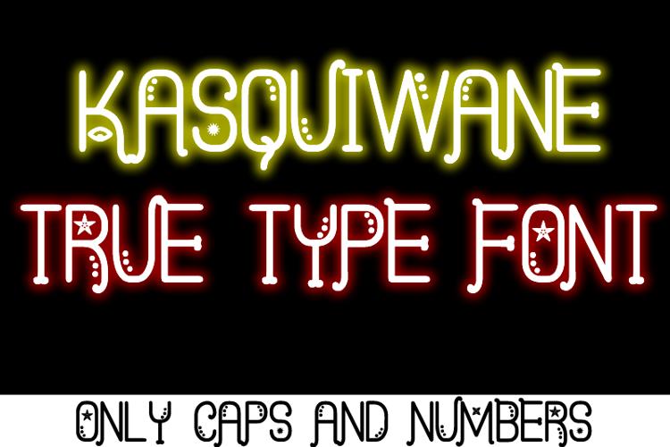 Kasquiwane St Font