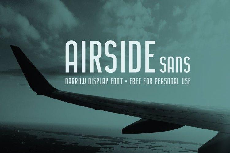 Airside Sans Font