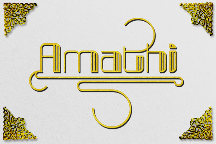 broad Font