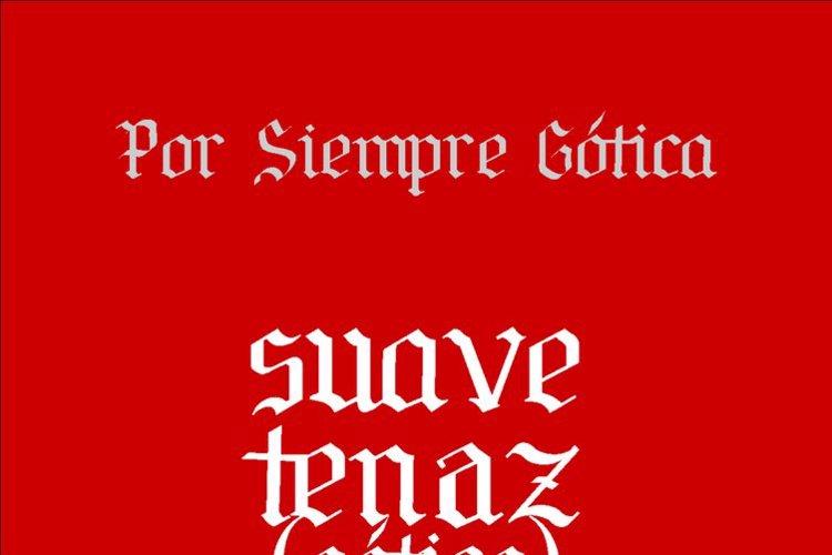 Por Siempre Gótica Font