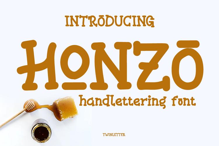 HONZO Font