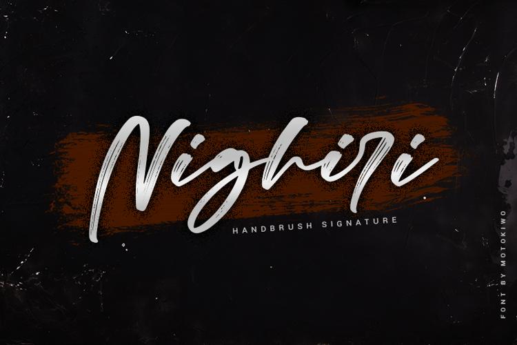 Nighiri Font
