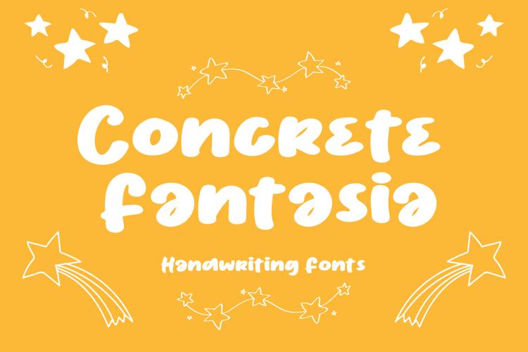Concrete Fantasia Font