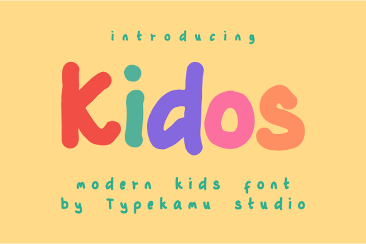 Kidos Font