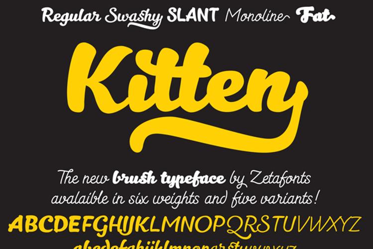 Kitten Font