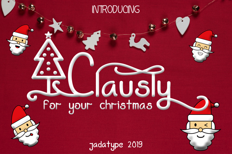 Clausly Font