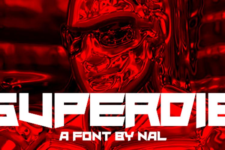 Superdie Font