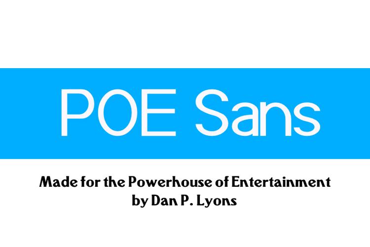 POE Sans (Demo) Font