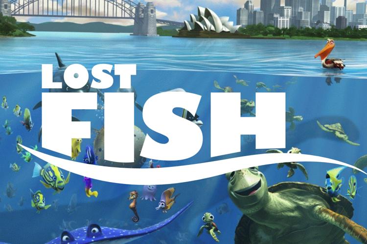 Lost Fish Font