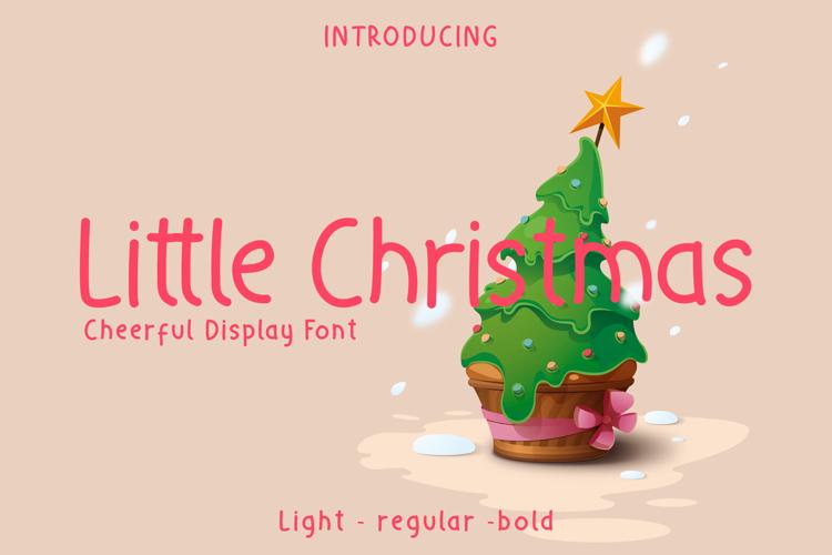 Little Christmas Font