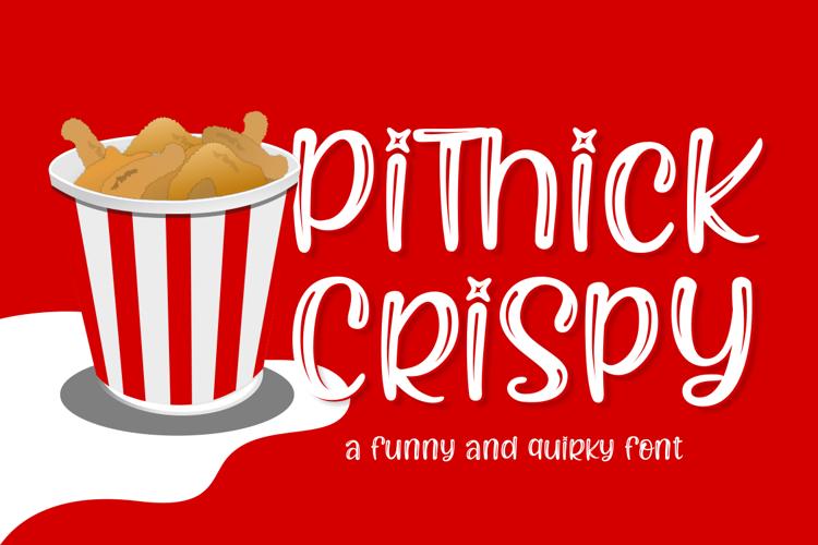 Pithick Crispy Font